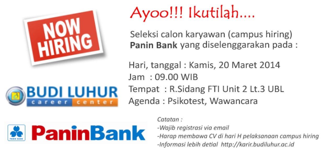 universitas budi luhur Panin Bank 1024x482 Campus Hiring : Panin Bank